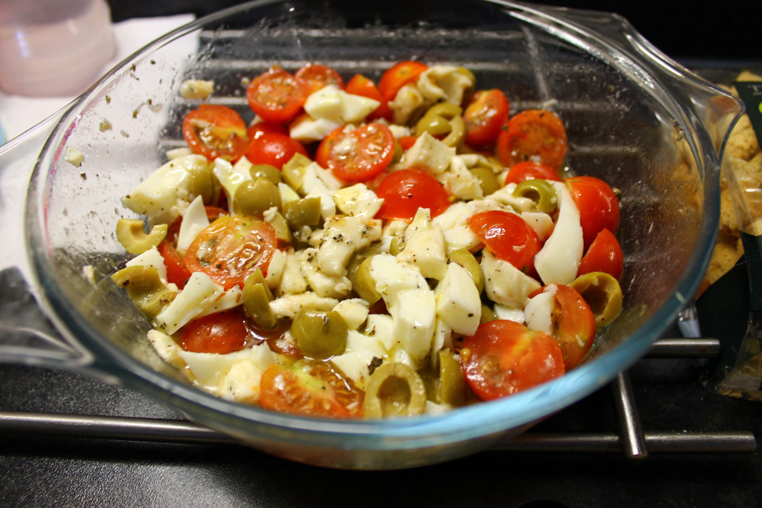Andrade's Mozzarella and Cherry Tomato Salad