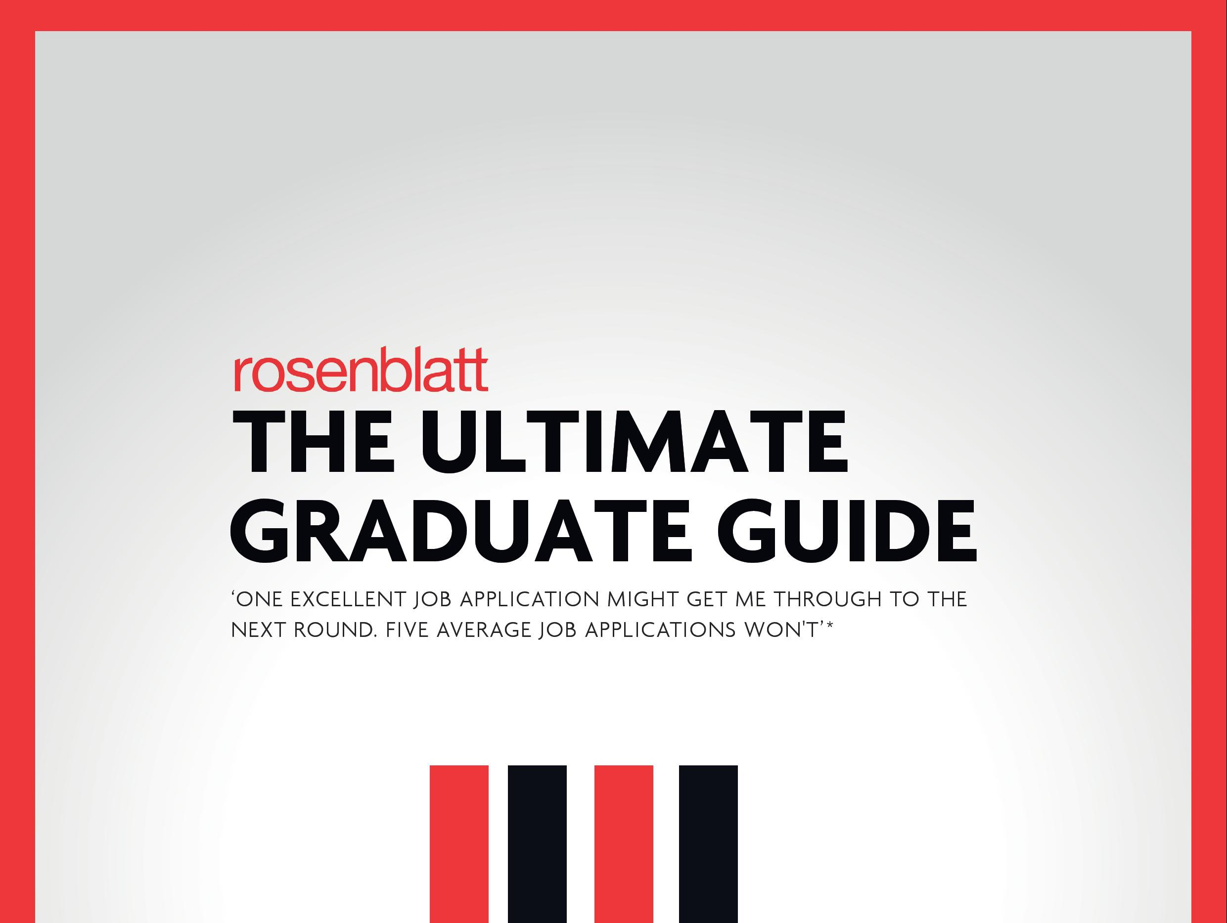 The Best Practice Guide for applying to Graduate schemes